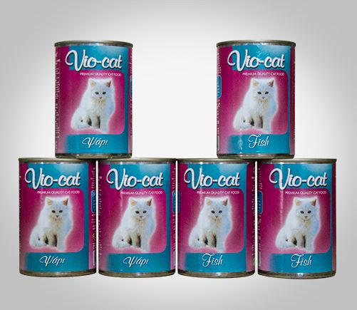 Vio-Cat canned food for adult cats.