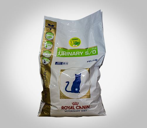 Royal Canin therapeutic cat food for urinary conditions.